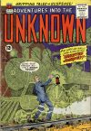 Cover For Adventures into the Unknown 132