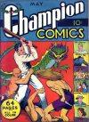 Cover For Champion Comics 7