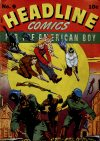 Cover For Headline Comics 9