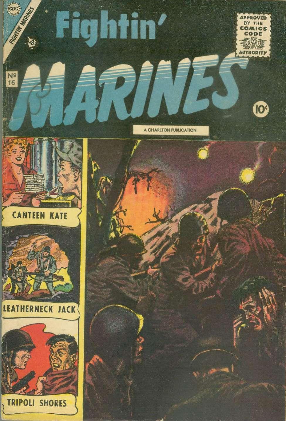 Comic Book Cover For Fightin' Marines 16 [indicia error reprints St. John Vol. 1, No. 3]