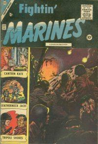 Large Thumbnail For Fightin' Marines 16 [indicia error reprints St. John Vol. 1, No. 3]