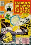 Cover For Fatman the Human Flying Saucer 1