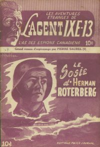 Large Thumbnail For L'Agent IXE-13 v2 009 – Le sosie d'Herman Roterberg