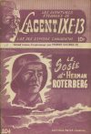 Cover For L'Agent IXE 13 v2 9 – Le sosie d'Herman Roterberg