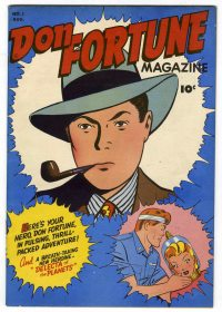 Large Thumbnail For Don Fortune Magazine #1