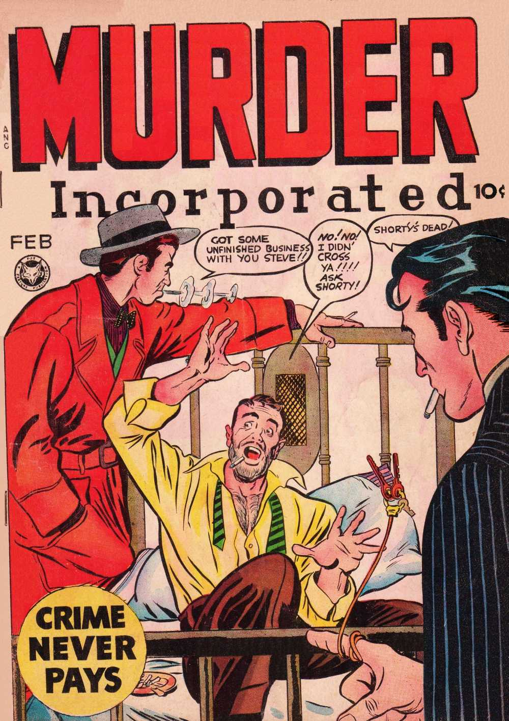 Comic Book Cover For Murder Incorporated #8 - Version 1