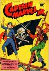 Cover For Captain Marvel Jr. 82