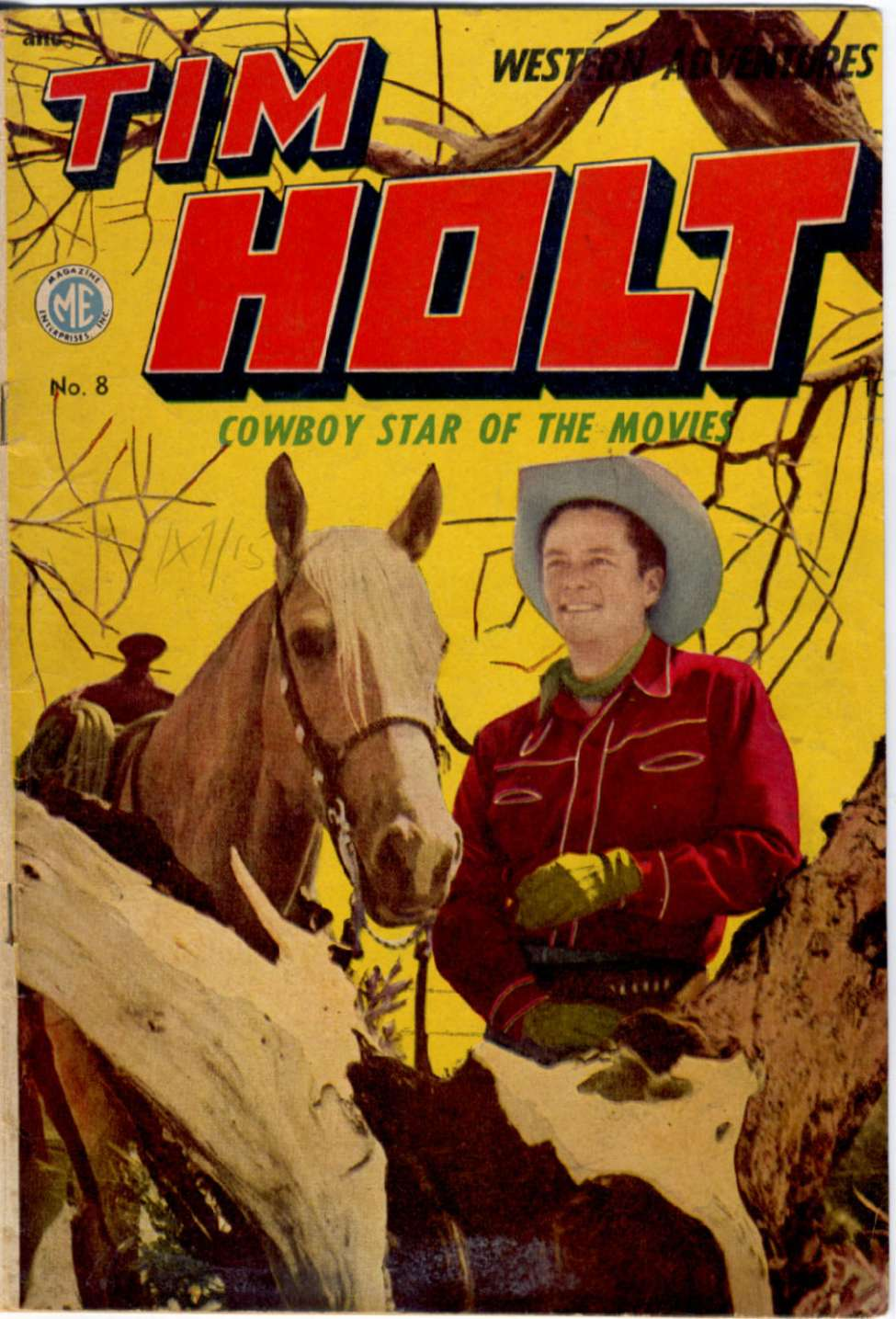 Comic Book Cover For Tim Holt #8