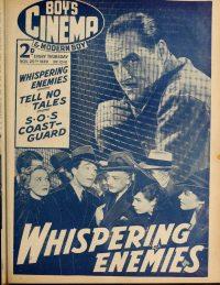 Large Thumbnail For Boy's Cinema 1041 - Whispering Enemies - Jack Holt