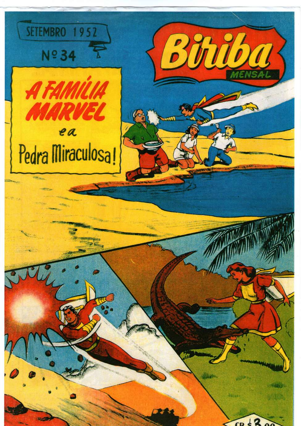 Comic Book Cover For Biriba Mensal 34