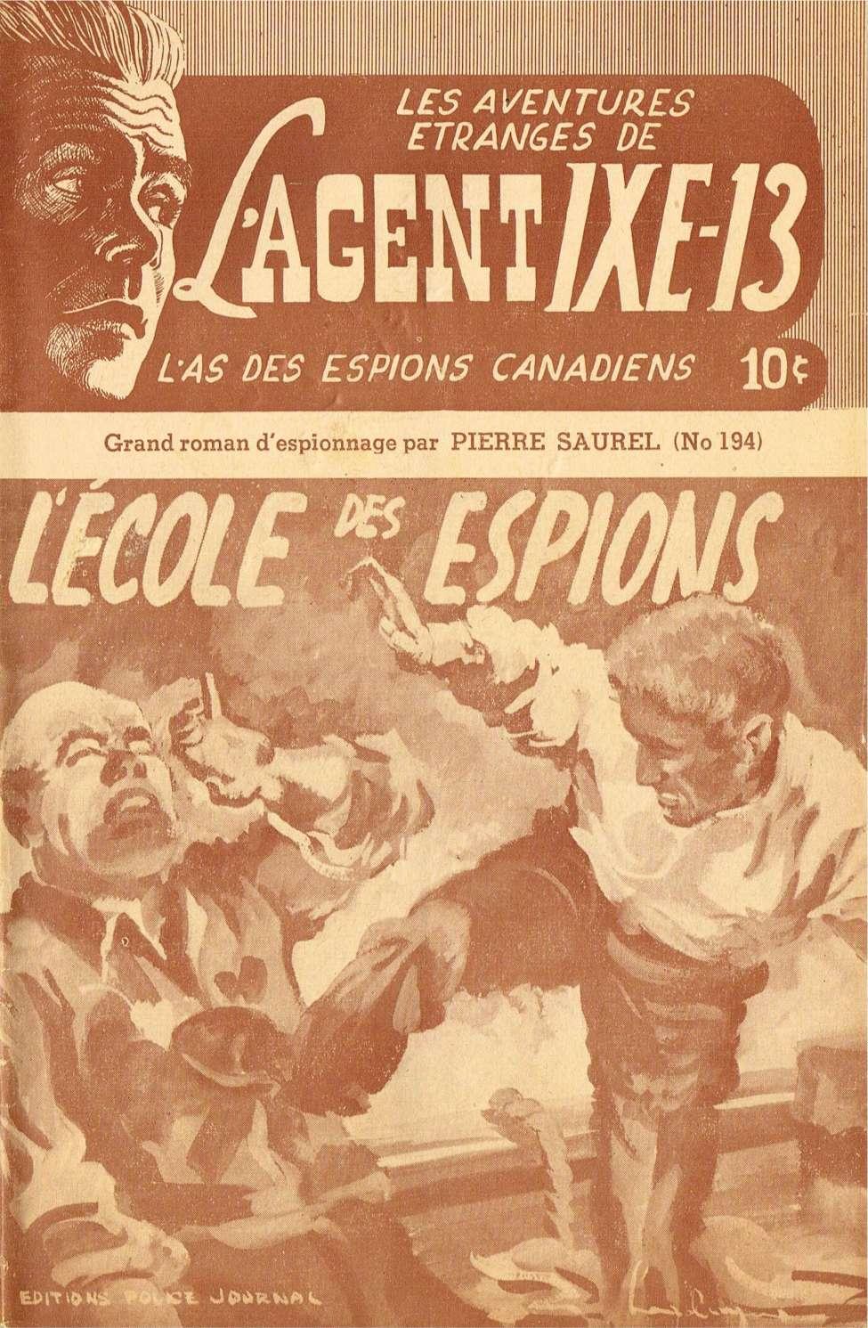 Comic Book Cover For L'Agent IXE-13 v2 194 - L'école des espions