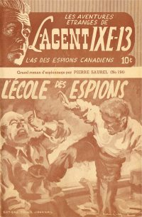 Large Thumbnail For L'Agent IXE-13 v2 194 - L'école des espions