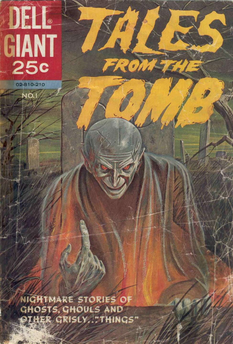 Comic Book Cover For Tales from the Tomb #1