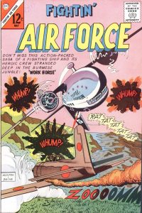 Large Thumbnail For Fightin' Air Force #38 - Version 2