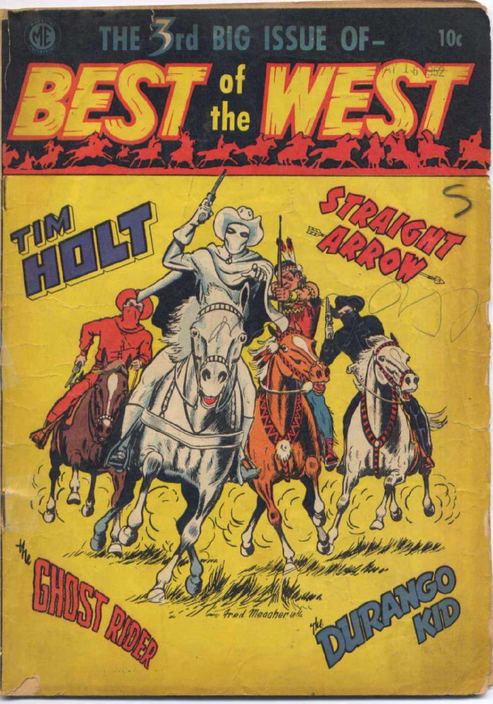 Comic Book Cover For Best of the West 3 [A-1 #52]