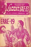 Cover For L'Agent IXE 13 v2 151 ERRE 19