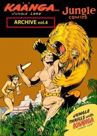 Large Thumbnail For Kaanga vol.4 -Jungle Comics Archive (Fiction House)