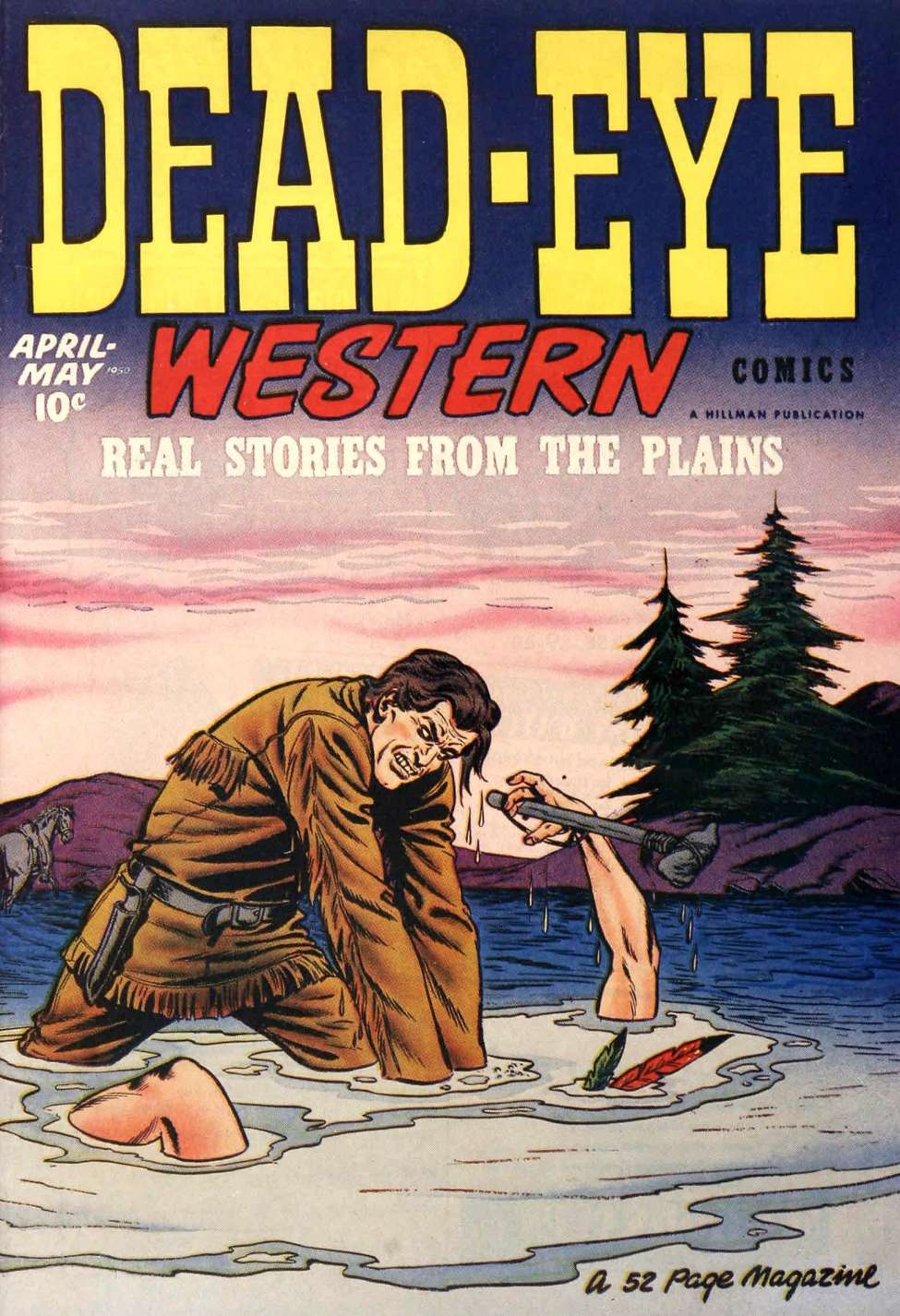 Comic Book Cover For Dead-Eye Western Comics v1 #9