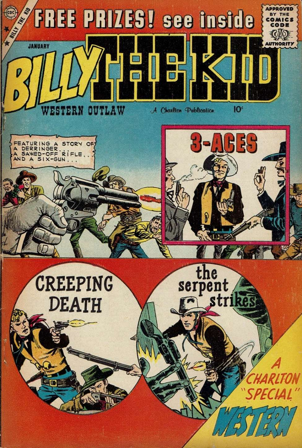 Comic Book Cover For Billy the Kid #20