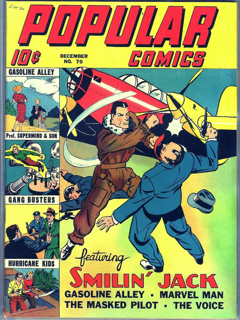Comic Book Cover For Popular Comics #70 - Version 2