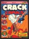 Cover For Crack Comics 4 (paper/fiche)