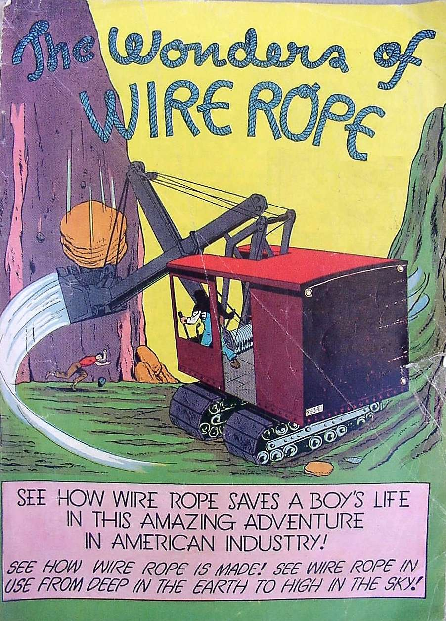 Comic Book Cover For The Wonders of Wire Rope [nn]