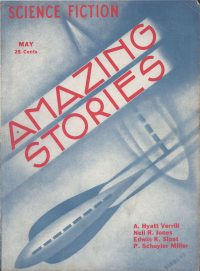 Large Thumbnail For Amazing Stories v08 02 - The Death Drum - A. Hyatt Verrill
