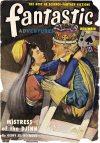 Cover For Fantastic Adventures v12 11 Mistress of the Djinn Geoff St. Reynard