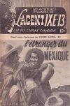 Cover For L'Agent IXE 13 v2 96 L'étranger du Mexique