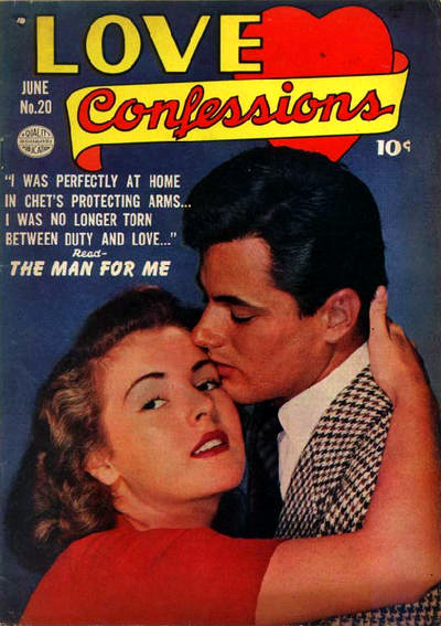 Comic Book Cover For Love Confessions #20
