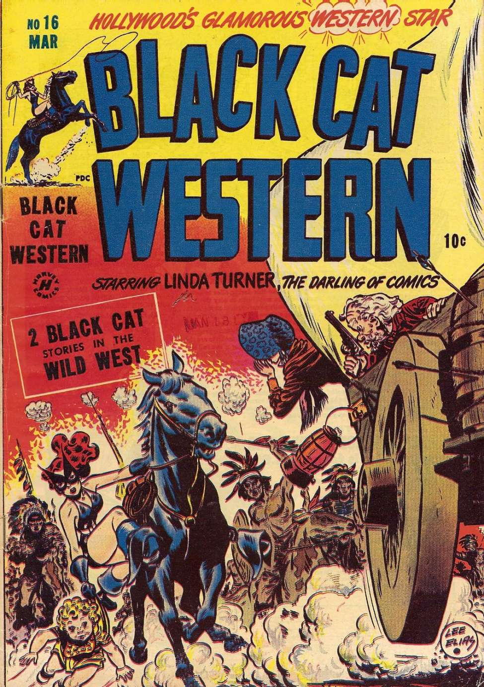 Comic Book Cover For Black Cat #16