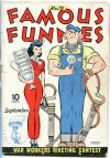 Cover For Famous Funnies 110