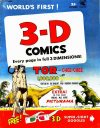 Cover For 3D Comics 2 Tor