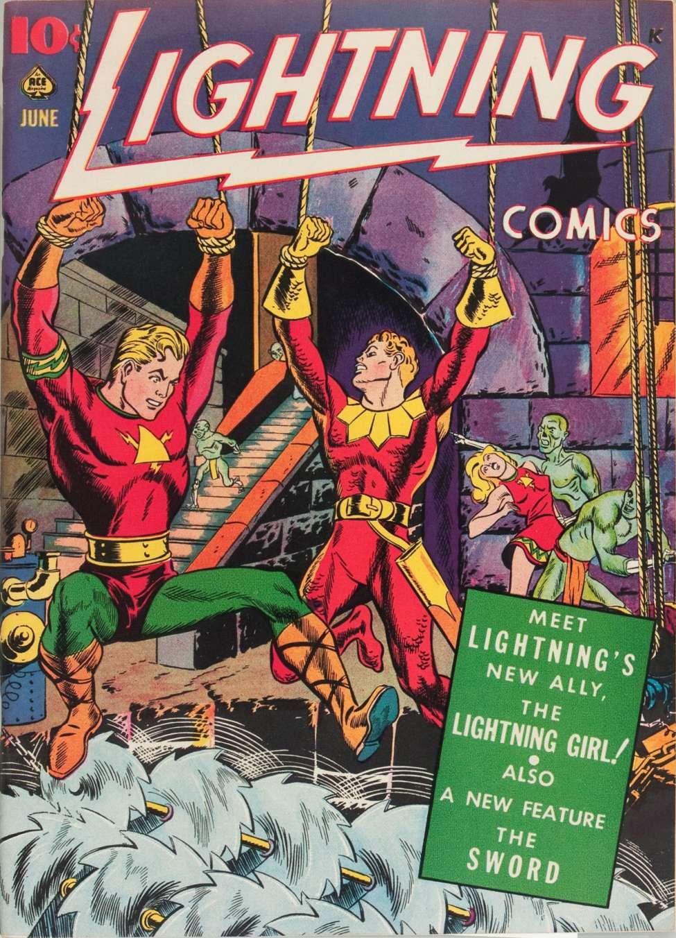 Comic Book Cover For Lightning Comics v3 #1