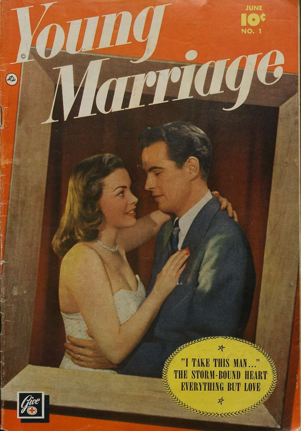Comic Book Cover For Young Marriage 1