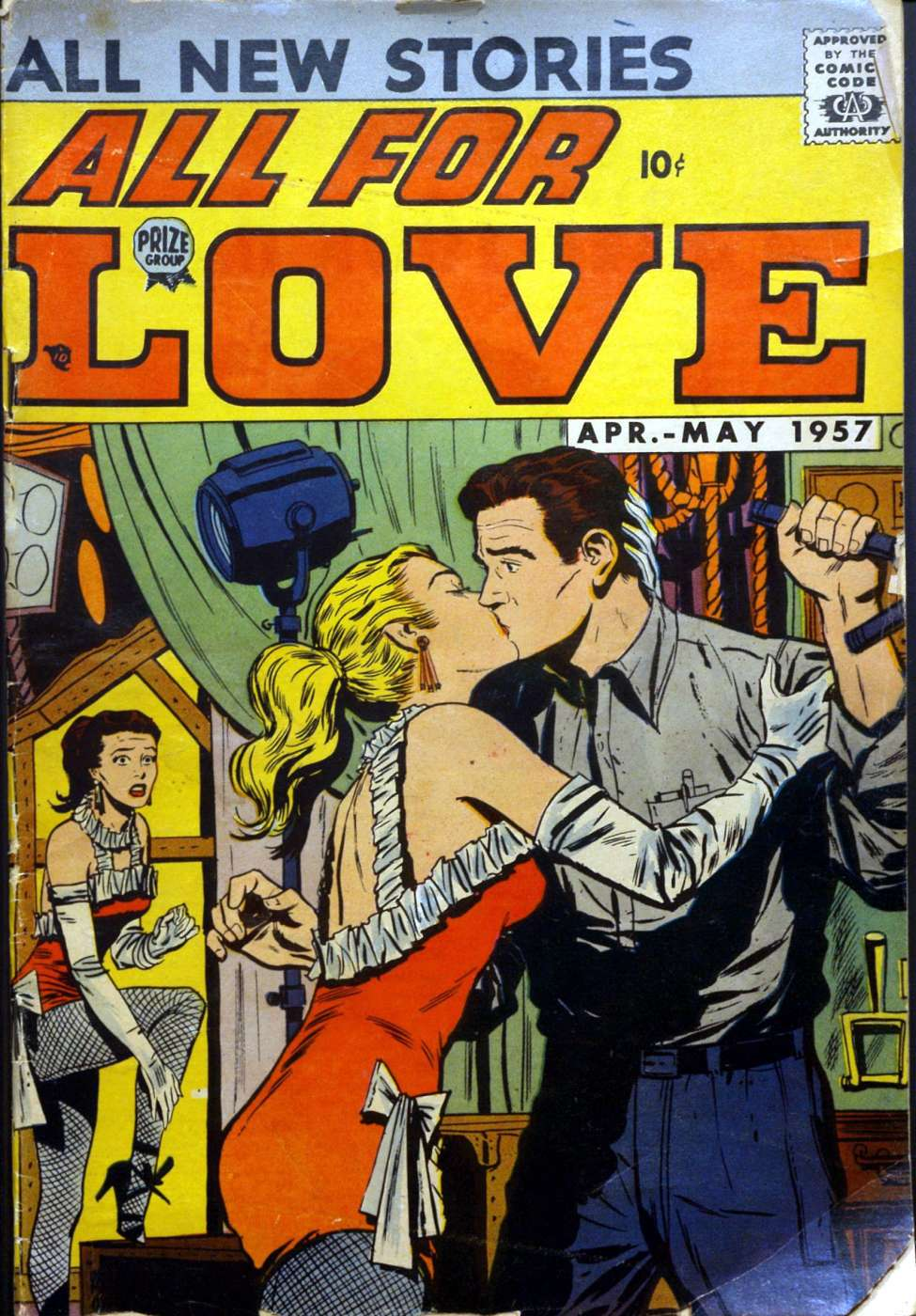 Comic Book Cover For All for Love v1 1 [1]