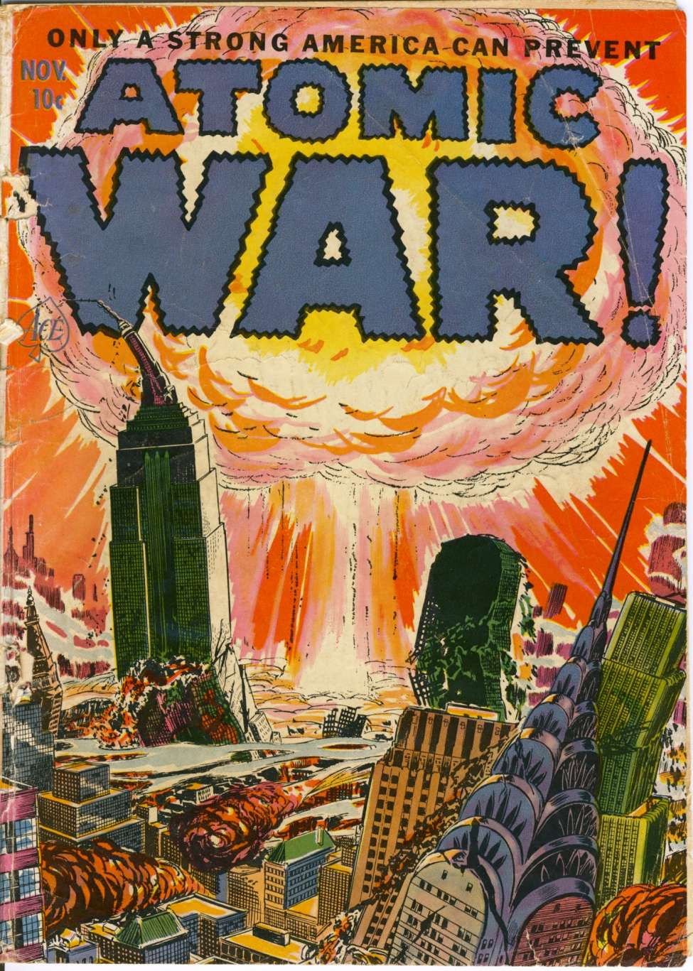Comic Book Cover For Atomic War! #1