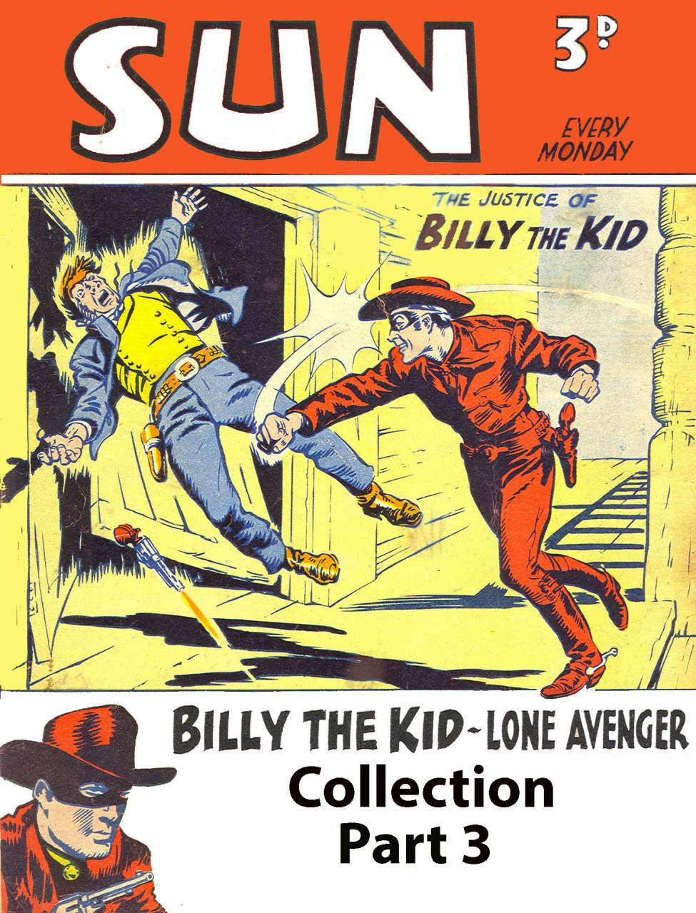 Comic Book Cover For Billy the Kid (UK) SUN Collection Pt.3