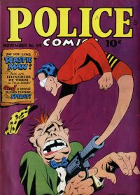 Large Thumbnail For Police Comics #24