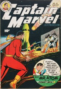 Large Thumbnail For Captain Marvel Adventures #81