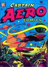 Cover For Captain Aero Comics 26