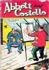 Cover For Abbott and Costello Comics 21
