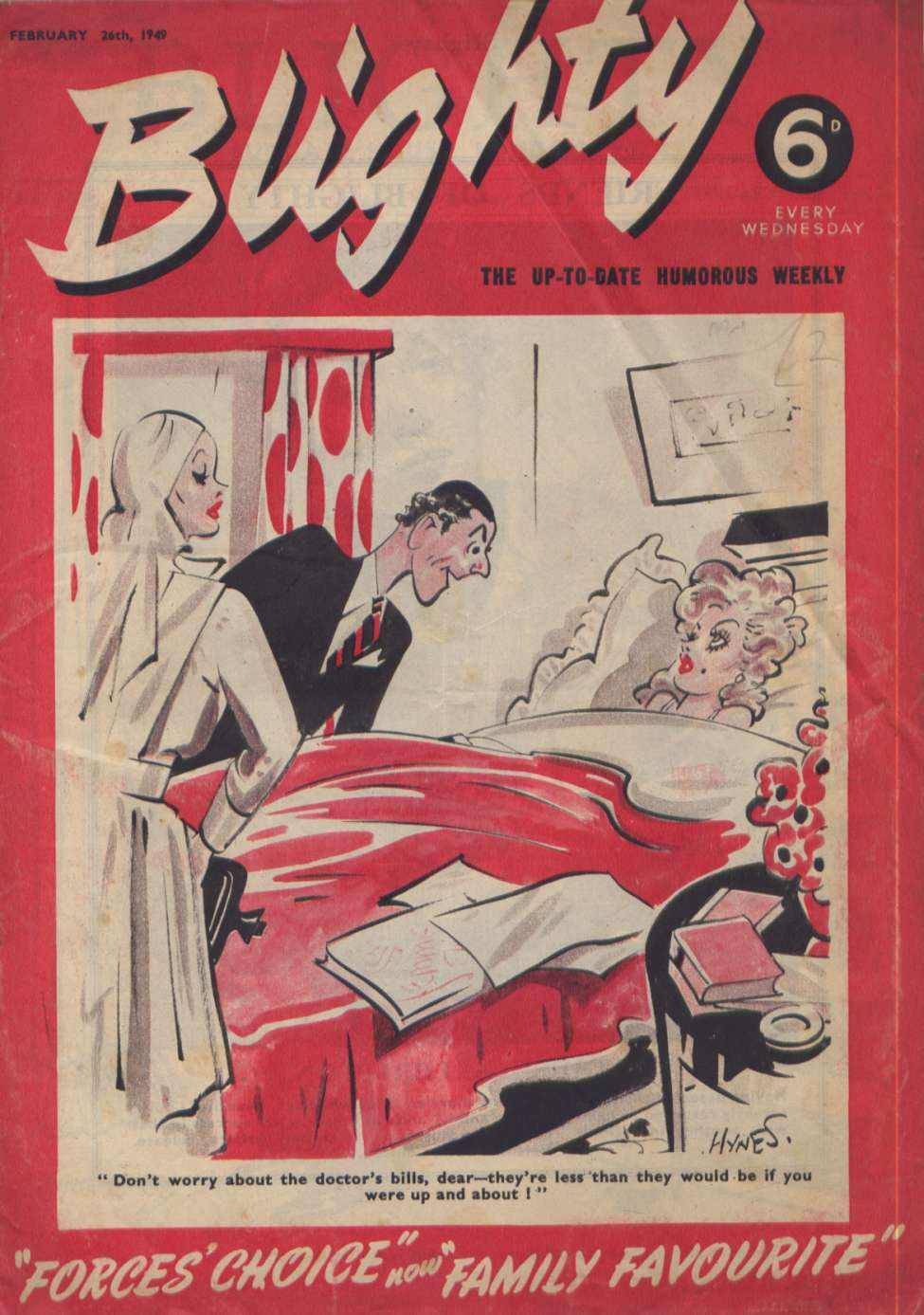 Comic Book Cover For Blighty 0487