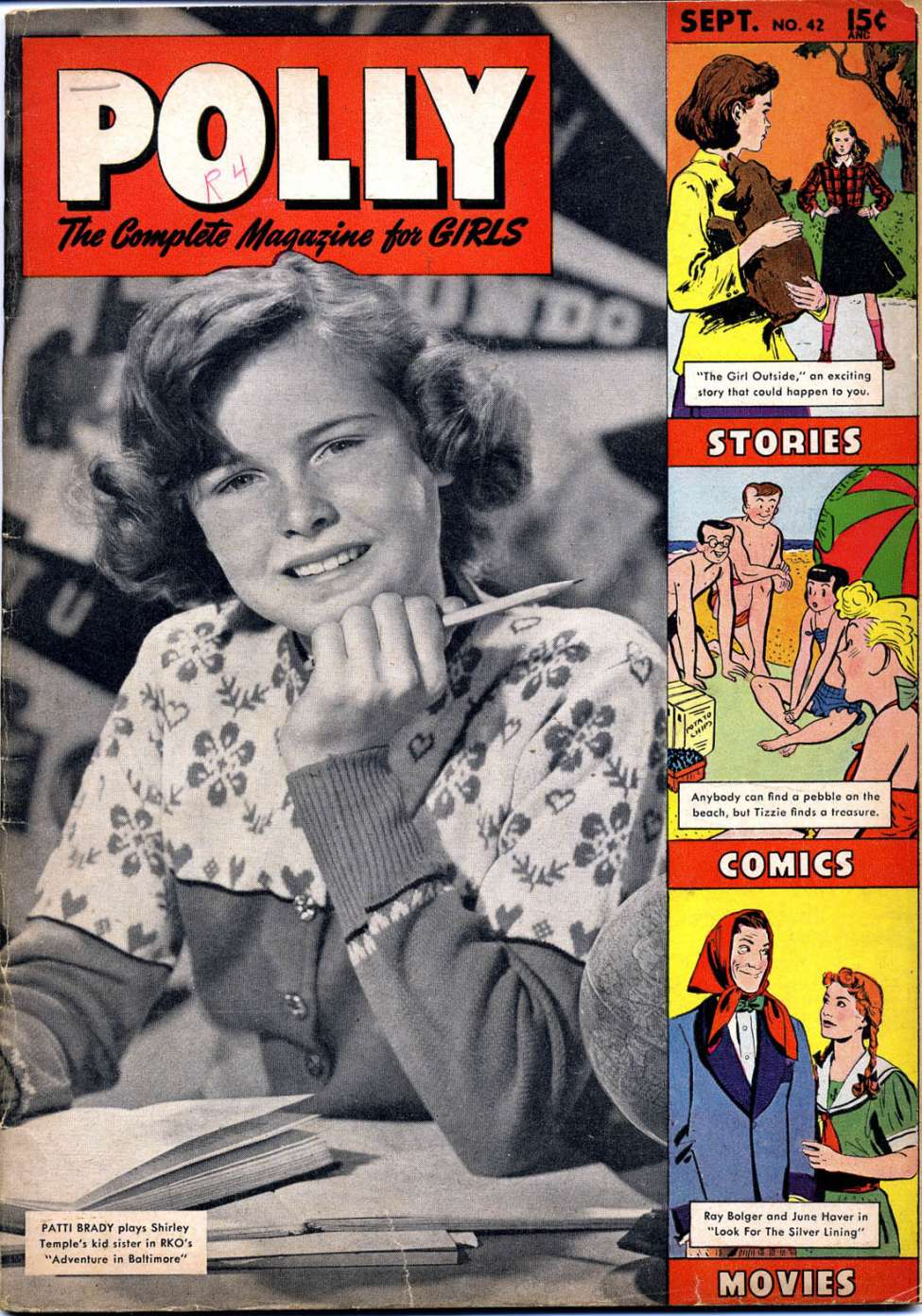 Comic Book Cover For Polly Pigtails 42