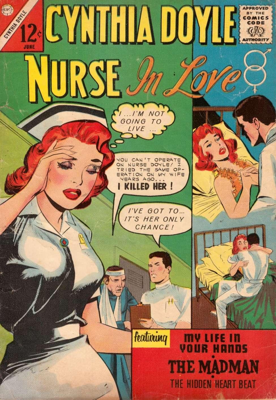 Comic Book Cover For Cynthia Doyle, Nurse in Love #70