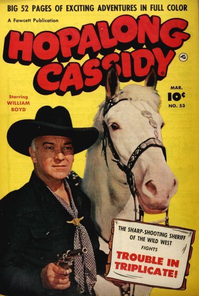 Comic Book Cover For Hopalong Cassidy #53