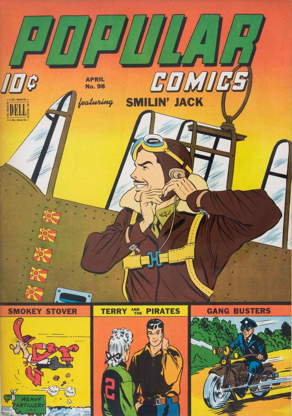 Comic Book Cover For Popular Comics #98