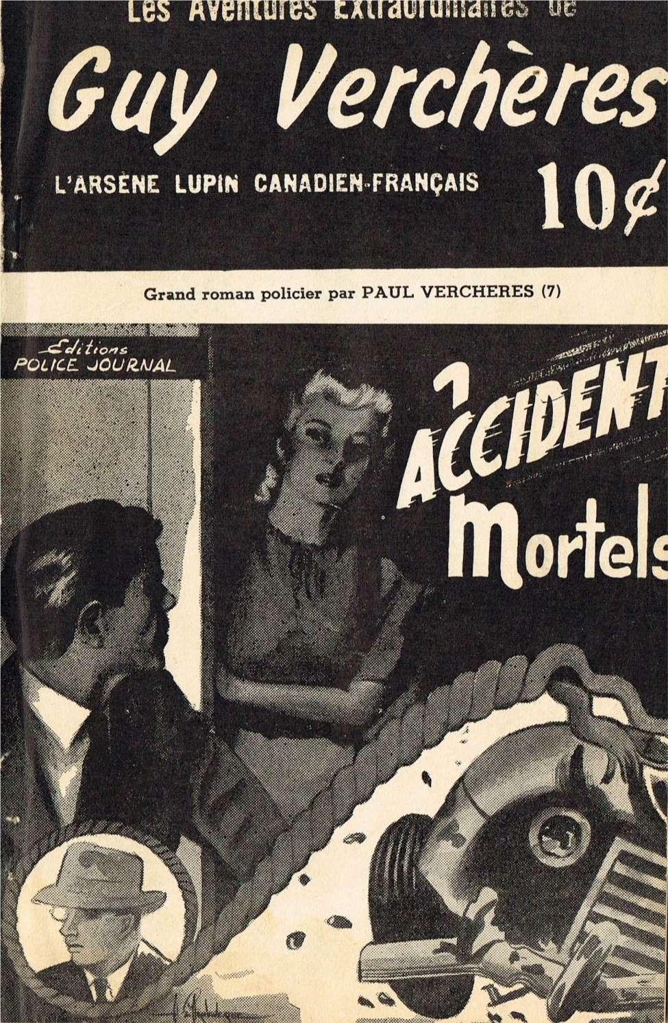 Comic Book Cover For Guy-Vercheres v2 07 - Accidents mortels