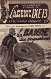 Cover For L'Agent IXE 13 v2 57 La bande des Capuchons