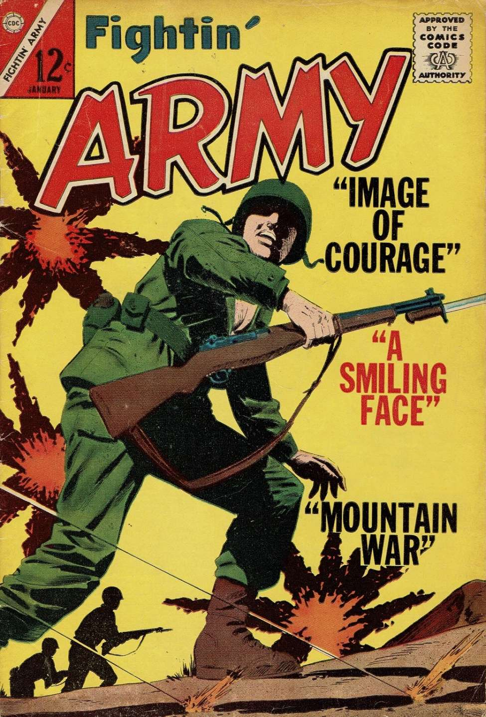 Comic Book Cover For Fightin' Army #56